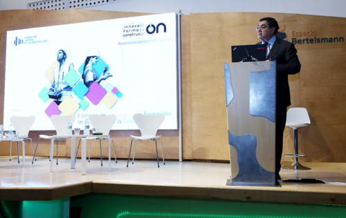 Enrique Corral, director general de la Fundación Laboral de la Construcción, en la clausura